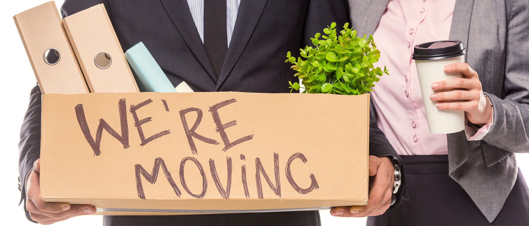 Office Moving sign