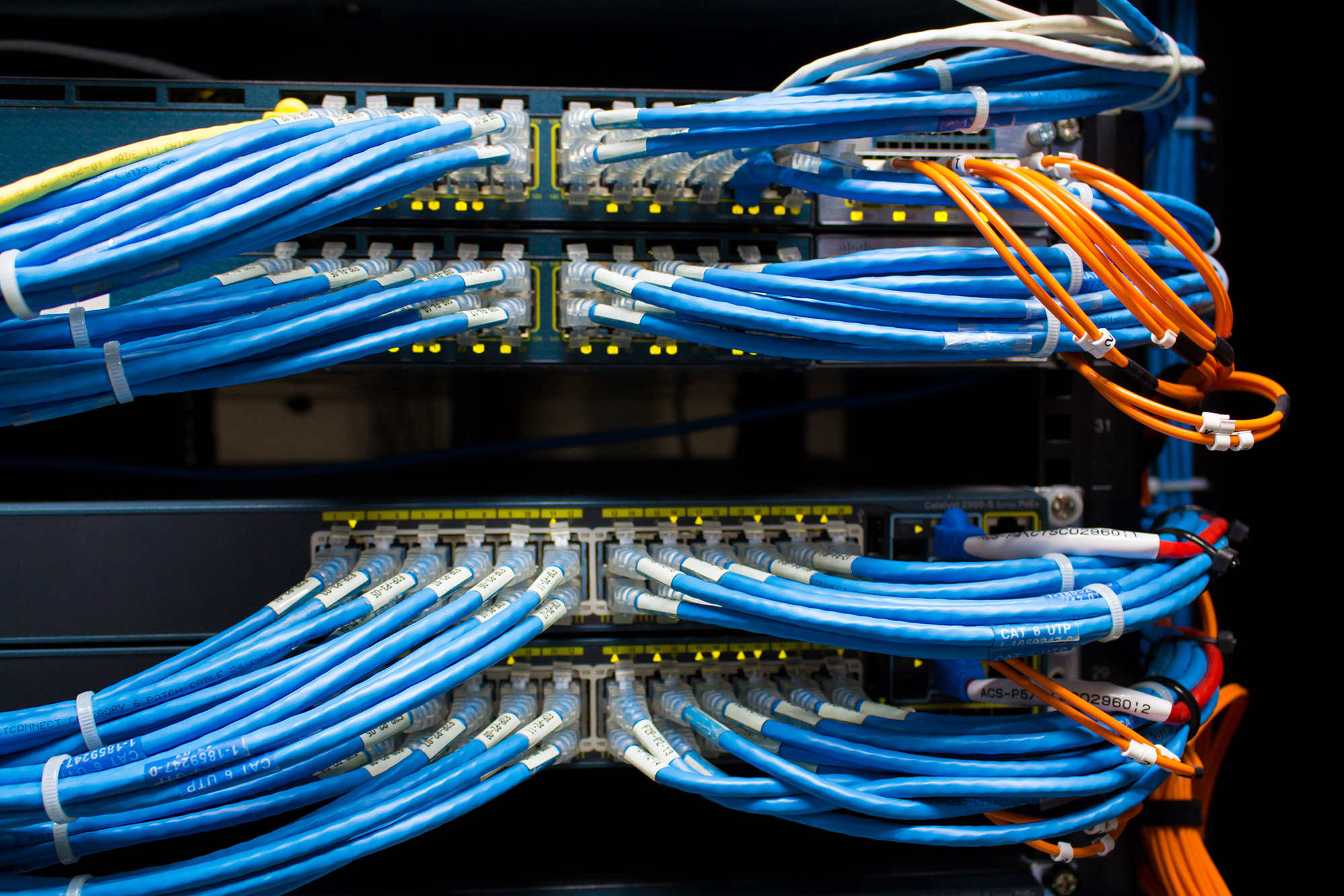 Experienced Network Cabling Technicians